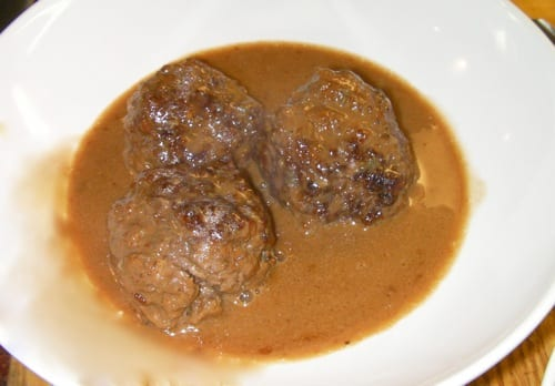 Meatballs Blue Cheese Sauce