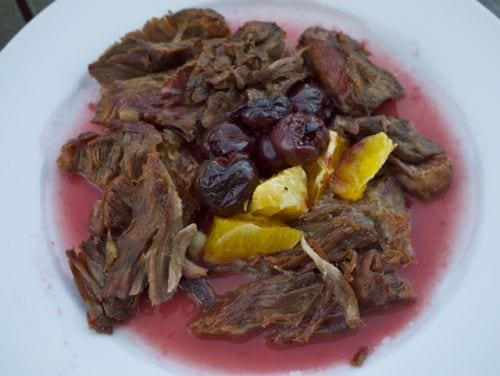 Carnitas with Fruit