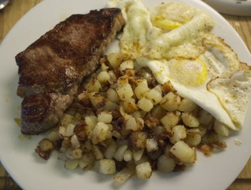 Steak Eggs