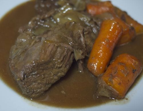 Pot Roast and Carrots