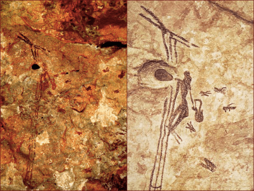 honey cave painting