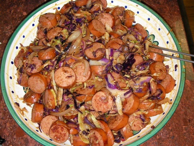 Sausage_cabbage